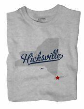 Hicksville New York NY T-Shirt MAP