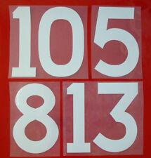 Flock Nummer number número away Trikot jersey shirt England WC 1966 1970