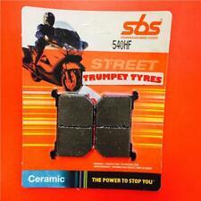 Kawasaki GPZ 750 82 SBS Rear Ceramic Brake Pads Set OE QUALITY 540HF