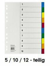 50 Trennblätter gelb Register DIN A4 Karton Ordner blanko 190 g//qm Universal!
