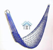 Jardin hammocks maille filet hang corde voyage camp hamac de nombreuses couleurs haute qualité