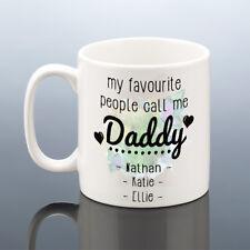 PERSONALISED DADDY MUG Dad Birthday Mug Daddy Cup Best Dad Gift Birthday Present