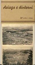 8003- Vicenza, Asiago e dintorni 20 cartoline in fototipia