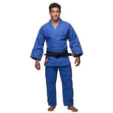KANKU Judo Uniform, Heavy duty double Weave 750 gram White and Blue Gi, Uniform