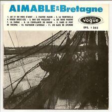 """AIMABLE MUSETTE 45T 7"""" EP AU 31 DU MOIS D'AOÛT BRETAGNE"""