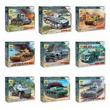 "Model Kits ""German tanks / motorized forces 1939-43 WWII"" 1:100 Zvezda, part 1"