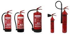 Feuerlöscher GS DIN EN3 ABC Pulver CO2 Schaum Fettbrand 1,2,5,6,9,12 kg 2,3,6,9L