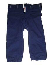 Rawlings Titanium Adult Football Pants Slotted Navy Blue Sizes XL, 2XL, and 3XL