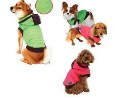 Hunde Winter Mantel Parka m.Strickansatz in braun Farbenfroh Apfelgrün Rosa