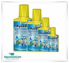 Tetra Aquasafe: 100 - 250 - 500ml. Biocondizionatore acqua acquario