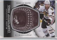 2015 Upper Deck Black Diamond Championship Rings #CR-DK Duncan Keith Hockey Card