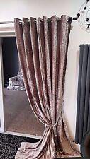 velours rideaux anneau oeillet Haut prêt à l'em Ploi entièrement doublés