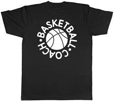 Entrenador de baloncesto Unisex para Hombre Mujer señoras Camiseta Tee