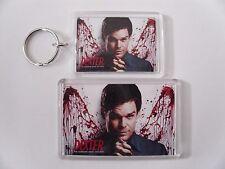 DEXTER (2)  Keyring or Fridge Magnet = ideal gift idea !!!!!!!!!