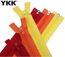 YKK #5 Nylon Coil Open End Separating Zipper CNFOL-56 – MANY Colors / Lengths