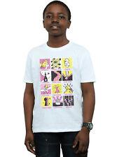 Disney Niños Tinkerbell Squares Camiseta