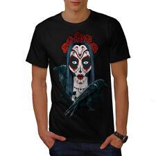 Sugar skull roses Horror Camiseta Para Hombres Nuevo   wellcoda