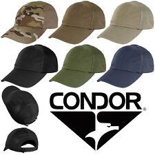 Condor TCTM Tactical Hunting Baseball Durable Mesh Team Cap Hat - ALL COLORS