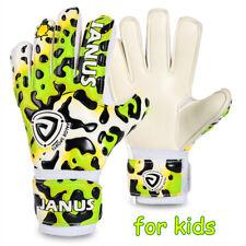 Janus Goalkeeper Gloves for Child Kid Soccer Goalie Keeper w Finger Save Protect