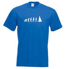 Mens evolution t shirt ape to man evolution sailing evolution t shirt