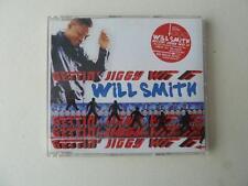 Will Smith Gettin' Jiggy Wit It 3 Track CD Single (Men In Black Video Mix)