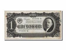 Billets Russie (Banknotes Russia), Russie, 1 Chervonetz type Lenine
