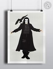 Il Corvo-Brandon Lee-minimalista MOVIE POSTER MODERN WALL ART posteritty
