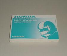 Manual Del Propietario Honda CB 600 F Stand 1997