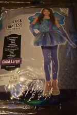 Children's Peacock Princess Costume Size Medium & Large new