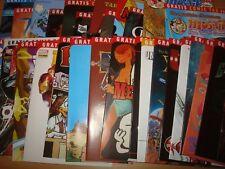 30 Hefte vom Gratis Comic Tag 2010 alle Titel zum selber auswählen