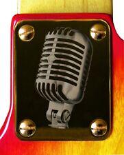 Neck Plate Neckplate Gold Fender Strat Tele Strat P J Bass  Guitar Announcement