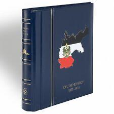 Leuchtturm SF-Vordruckalbum Deutsches Reich div. n.Wahl + Drehstabbinder + Kass