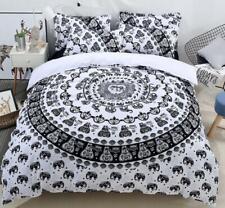 3D Stylish Bohemia Floral Quilt Cover Bedding set Duvet Cover Pillowcase Queen
