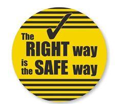 Safety Hard Hat Decal Hardhat Sticker Helmet Label H212
