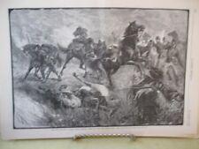 Vintage Print,UTE WAR,Native American,Harpers,November,1879