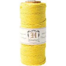 Hemp Cord Spool 20lb 205'-Yellow, Hs20-Yel