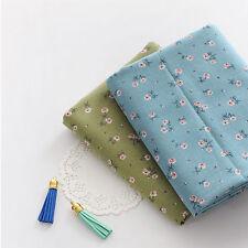 "Linen Fabric Mini Flower by the yards 55"" cozy Mini Flower"