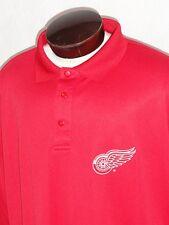 NEW! Detroit Redwings Hockey Polo Shirt Mens Big & Tall (Choose Size) Red NWT!