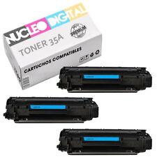 Toner compatible HP 35A  36A CB435A CB436A  para impresoras HP Laserjet