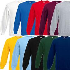 Fruit of the Loom Herren Sweatshirt Pullover 280g Sweat S M L XL XXL 3XL