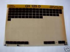 HONDA CH125 D CH GEN PARTS CATALOGUE MICROFICHE 1983