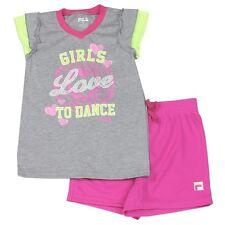 Fila T-Shirt and Shorts Set Size 5 5/6 6/7