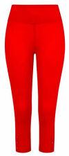 Mudd & Water Womens Crop Leggings Organic Cotton - Salsa Red