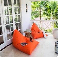 Astonishing Orange Bean Bags For Sale Ebay Unemploymentrelief Wooden Chair Designs For Living Room Unemploymentrelieforg