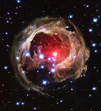 Star V838 Monocerotis tHubble JPL NASA space telescope photo hs-2004-10-a