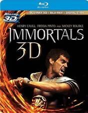 Immortals (Blu-ray Disc, 2012, 3-Disc Set, Includes Digital Copy; 2D/3D) - NEW!!