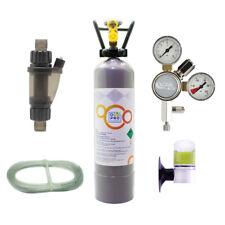 OCOPRO CO2 Anlage DLX-500 Aquarium mit Mehrwegflasche für AQ bis 500L