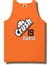 "Chris Davis Baltimore Orioles ""CRUSH"" jersey shirt TANK-TOP"