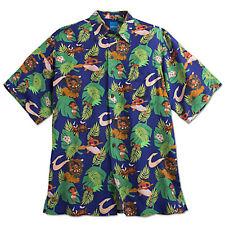 Disney Moana Hawaiian Aloha Camp Shirt by Reyn Spooner - Mens S, M, or XXL