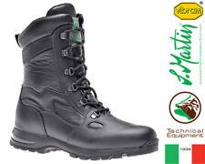 Stivali Militari Invernali Moto San Martin 237 Leather Vibram